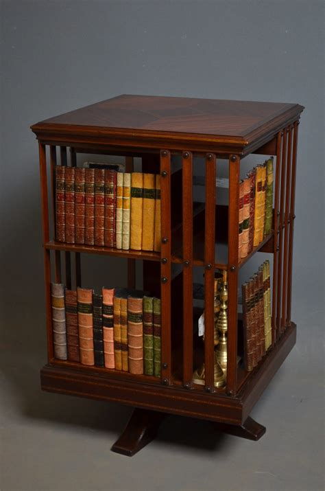 Revolving Bookcase Antiques Atlas Revolving Bookshelves