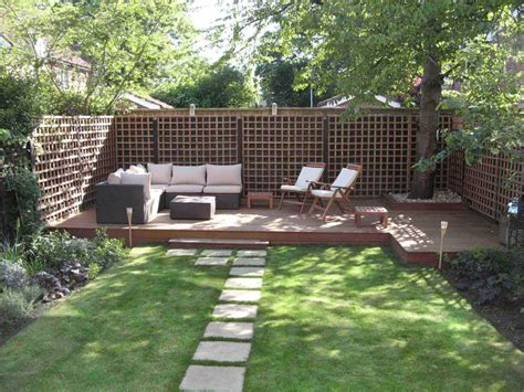 captivating backyard landscaping design ideas with white