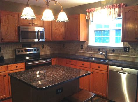 Granite Countertop Pictures Kitchen by P Pupkin Brown Granite Kitchen Countertop Granix