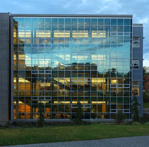uvic library glass facade by raptor rapture on deviantart