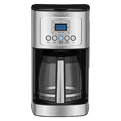 bed bath and beyond cuisinart buy cuisinart 174 14 cup programmable coffee maker from bed