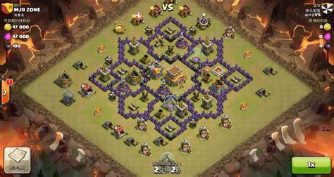 Coc Barbarian Lev 7 clash of clans th7 vs th8 balloon dragloon c