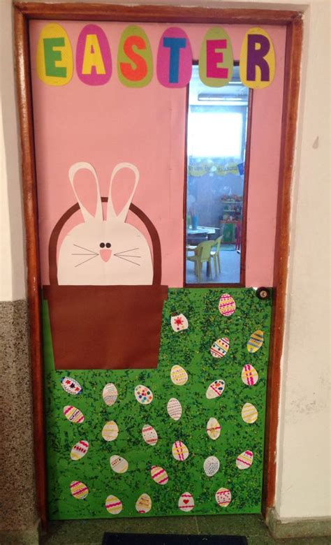 easter door decorations easter school door decoration my classroom pinterest