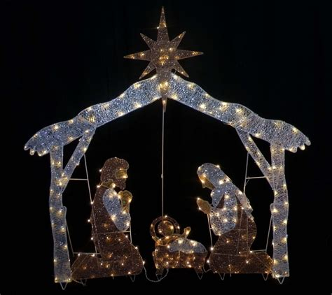 outdoor lighted nativity sets for sale outdoorlightingss com