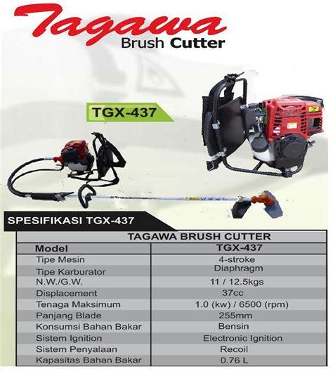 Mesin Potong Rumput Tagawa Harga Jual Tagawa Tgx 437 Mesin Potong Rumput Gendong