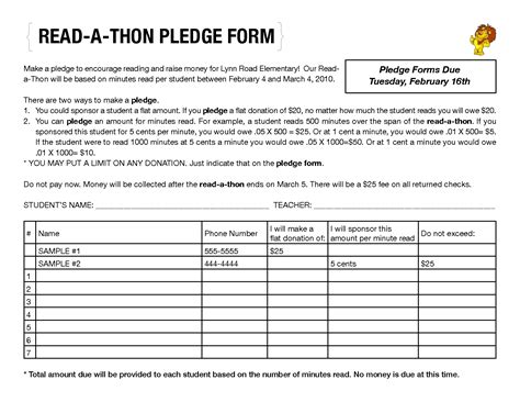 read a thon pledge form by llf87114 stoddard pto