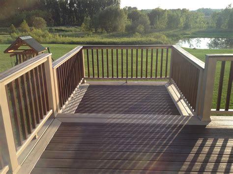composite deck construction composite decking grand rapids mi kalamazoo lansing