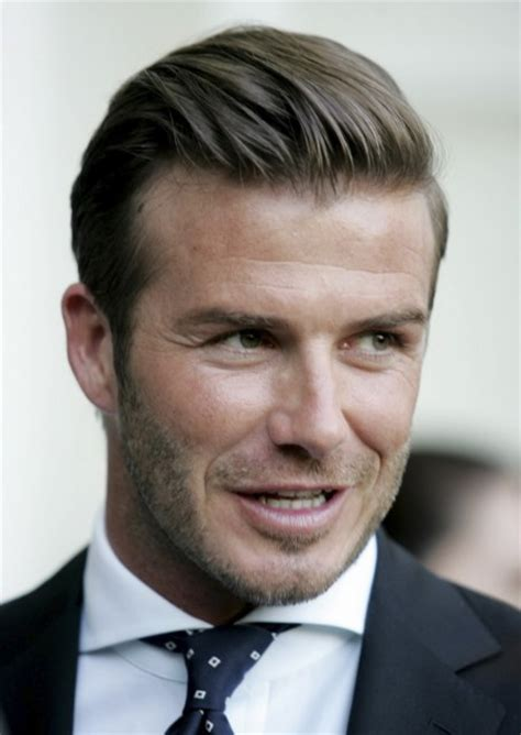 mens business hairstyle david beckham fashion business hairstyle for