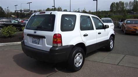 Ford Escape 2005 by 2005 Ford Escape White Stock 19640a