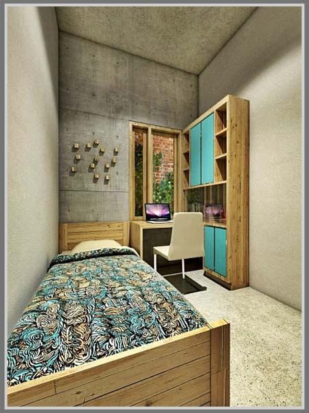 Sticker Dinding Ruang Tidur Kamar Tamu 50x70cm Kuning Flower Hedge tips kamar kost terkesan rapi