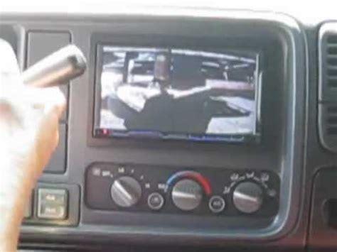 reverse camera install using double din head unit youtube