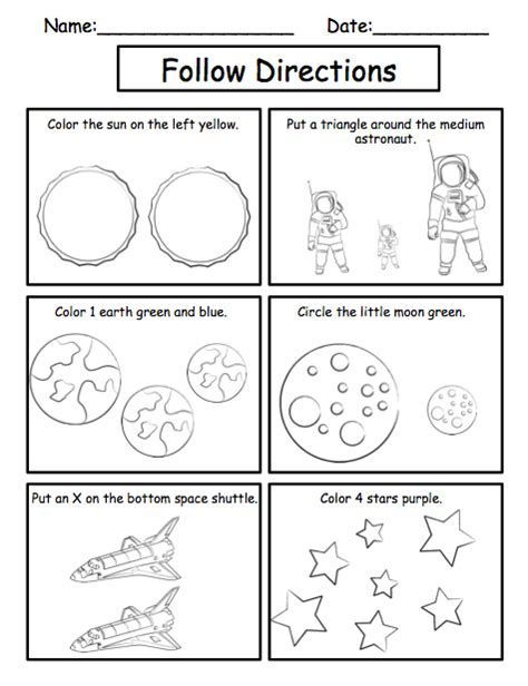 Solar System For Kindergarten Worksheets by Solar System Activity Sheets Page 2 Pics About Space