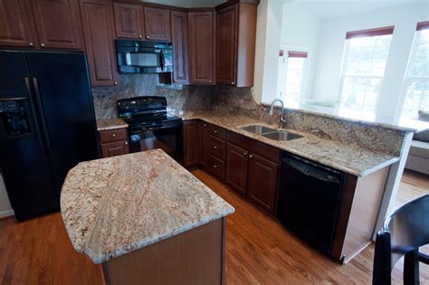 Home Design Cabinet Granite Reviews by Typhoon Bordeaux Granite Traditional Kitchen Dc