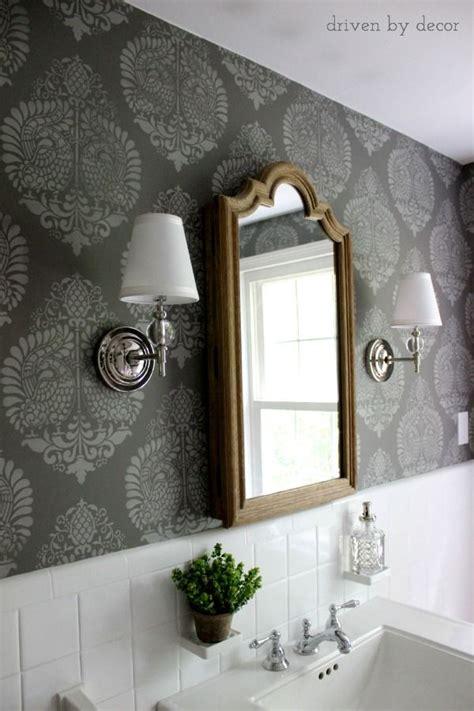 bathroom wall stencils 871 best places bath revision images on pinterest