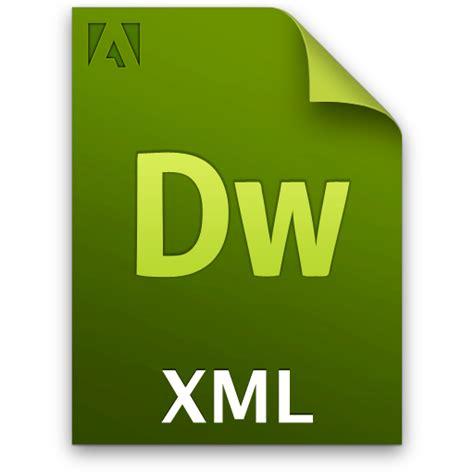 adobe dreamweaver xml icon adobe cs icon set