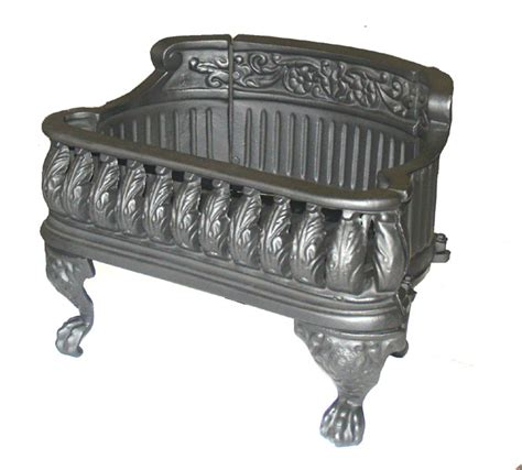 Cast Iron Basket Fireplace Grate by Cast Iron Basket Grate Wood Coal Logs Ebay