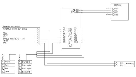 arduino quadcopter wiring diagram 28 images wiring