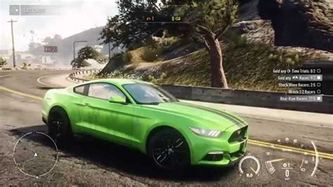 mustang neon need for speed rivals 2015 edition ford mustang gt neon