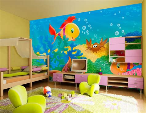 Childrens Bedroom Wall Decor Room Decorating Ideas Home Conceptor