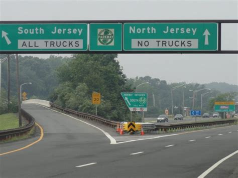On Garden State Parkway South Today by Garden State Parkway Closing From Exit 129 To Southern
