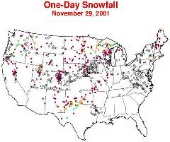 Snow Depth Map Michigan by Noaa News Online Story 828