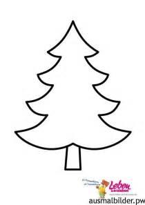 weihnachtsbaum vorlage kostenlos zum ausdrucken malvorlage