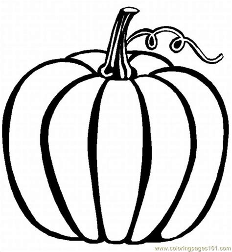 Coloring Pages Pumpkin 02 Lrg Food Fruits Gt Pumpkin Free Printable Pumpkin Coloring Pages