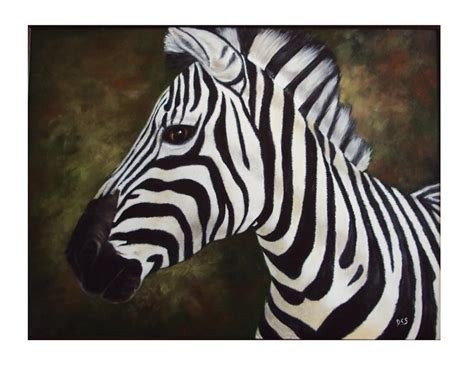 paint colors to match zebra print zebra painting painting by debra cerbonesteiner