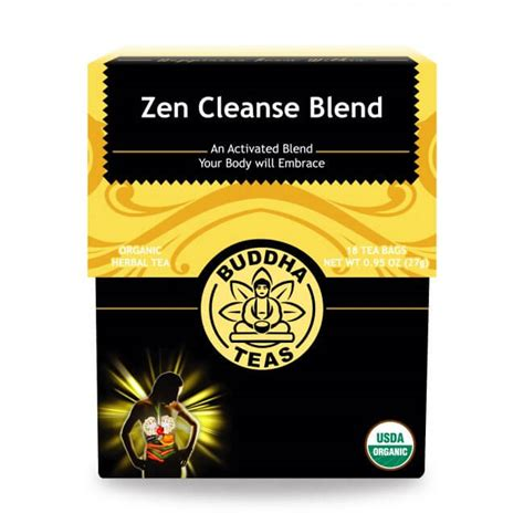 Zen Detox by Buy Zen Cleanse Tea Bags Enjoy Health Benefits Of