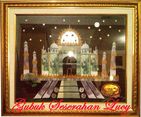 desain mahar masjid mahar masjid taj mahal gubuk seserahan lucy