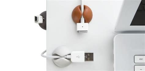 Keep Cables From Falling Desk by The World S Catalog Of Ideas