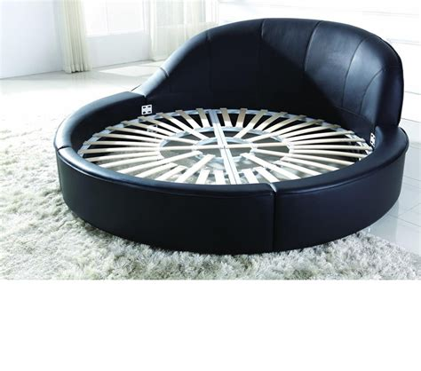 modern round bed dreamfurniture com b807 modern round bed
