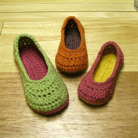 crochet house shoes crochet for free oma house slippers adult female