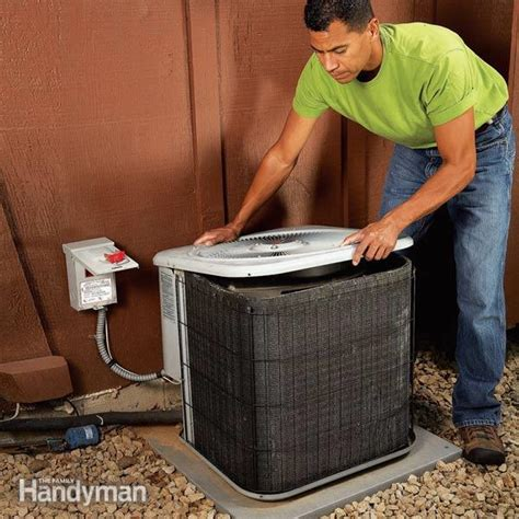 for fixing noisy air conditioners the family handyman