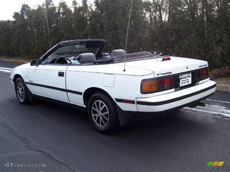 1987 Toyota Specs Horsepower Of An 1987 Toyota Celica
