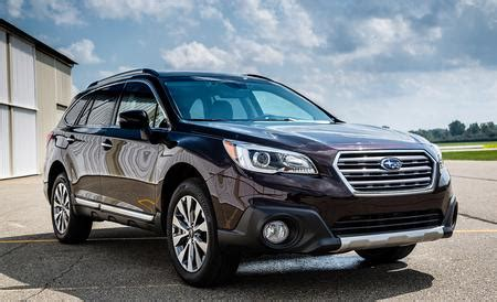 2017 subaru outback 3.6r touring – review – car and driver