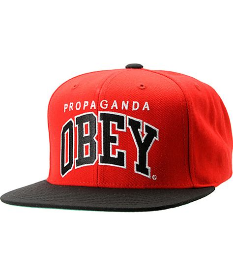 Topi Snapback Sneaper Er1 Shop obey throwback black snapback hat