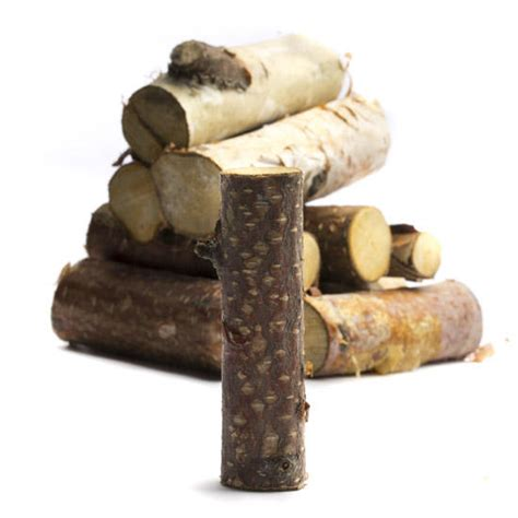 small precut birch wood logs vase  bowl fillers