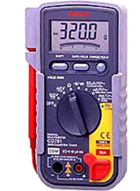 Multimeter Sanwa Cd771 sanwa cd721 digital multimeter cd721 rm305 00