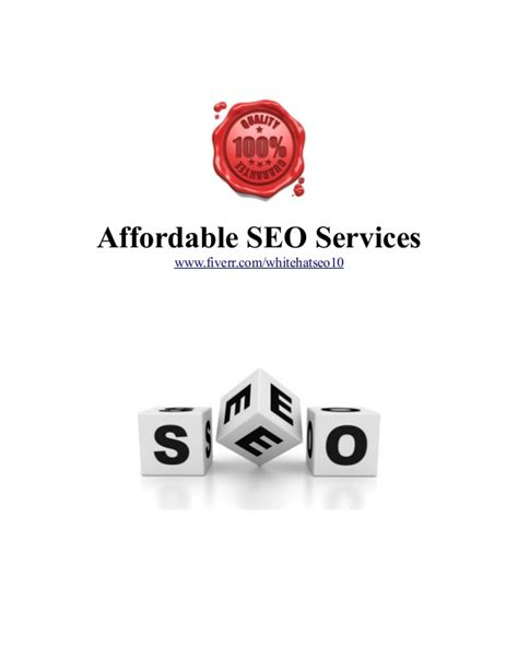 Seo Company 1 by Affordable Seo Services