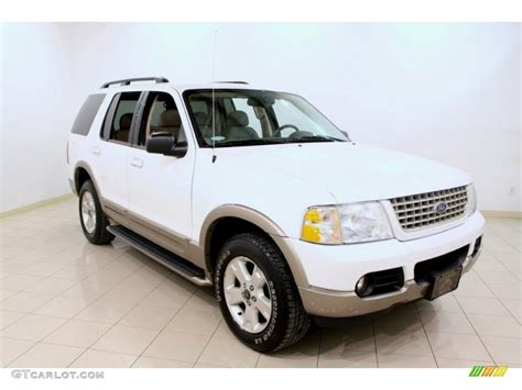 2003 ford explorer eddie bauer 2003 oxford white ford explorer eddie bauer 4x4 60379157