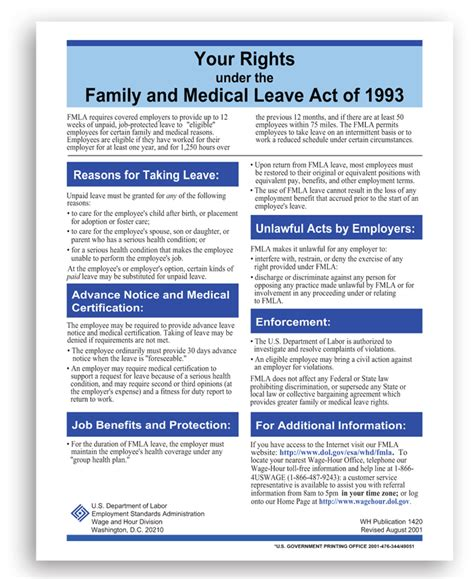 printable fmla poster affordable human resource information system hris