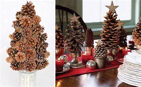 navidad adornos de navidad con pias de pino decora la navidad con pi 241 as