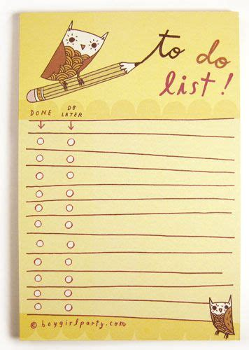 owl to do list printable shops owl and the o jays on pinterest