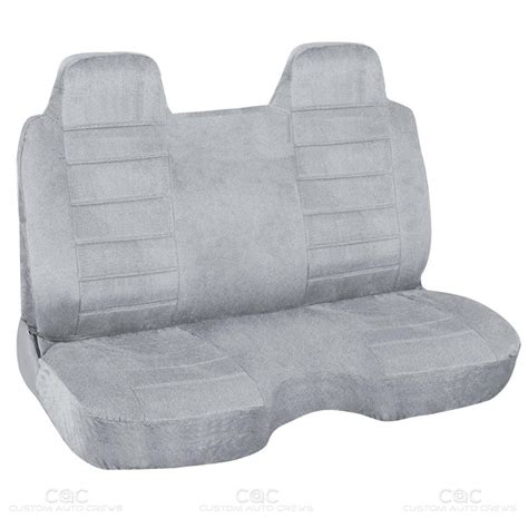 bench seat cover gray regal tweed bench seat cover for pickup trucks semi
