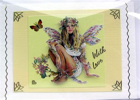 How To Do Decoupage Cards - crafted 3d decoupage card with 1458 on