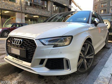 new audi rs3 sedan white all andorra