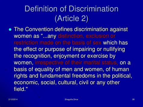 pattern discrimination definition gender equality in islam