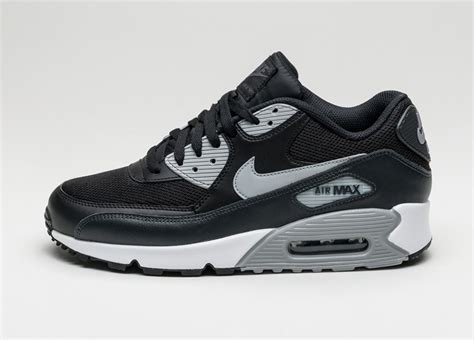 Nike Airmax 90 Black White nike air max 90 essential black wolf grey anthracite
