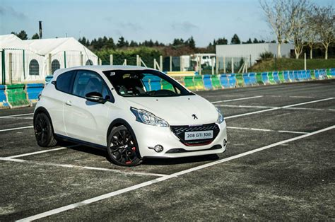 peugeot 208 gti white peugeot 208 gti 30th anniversary review how it should ve